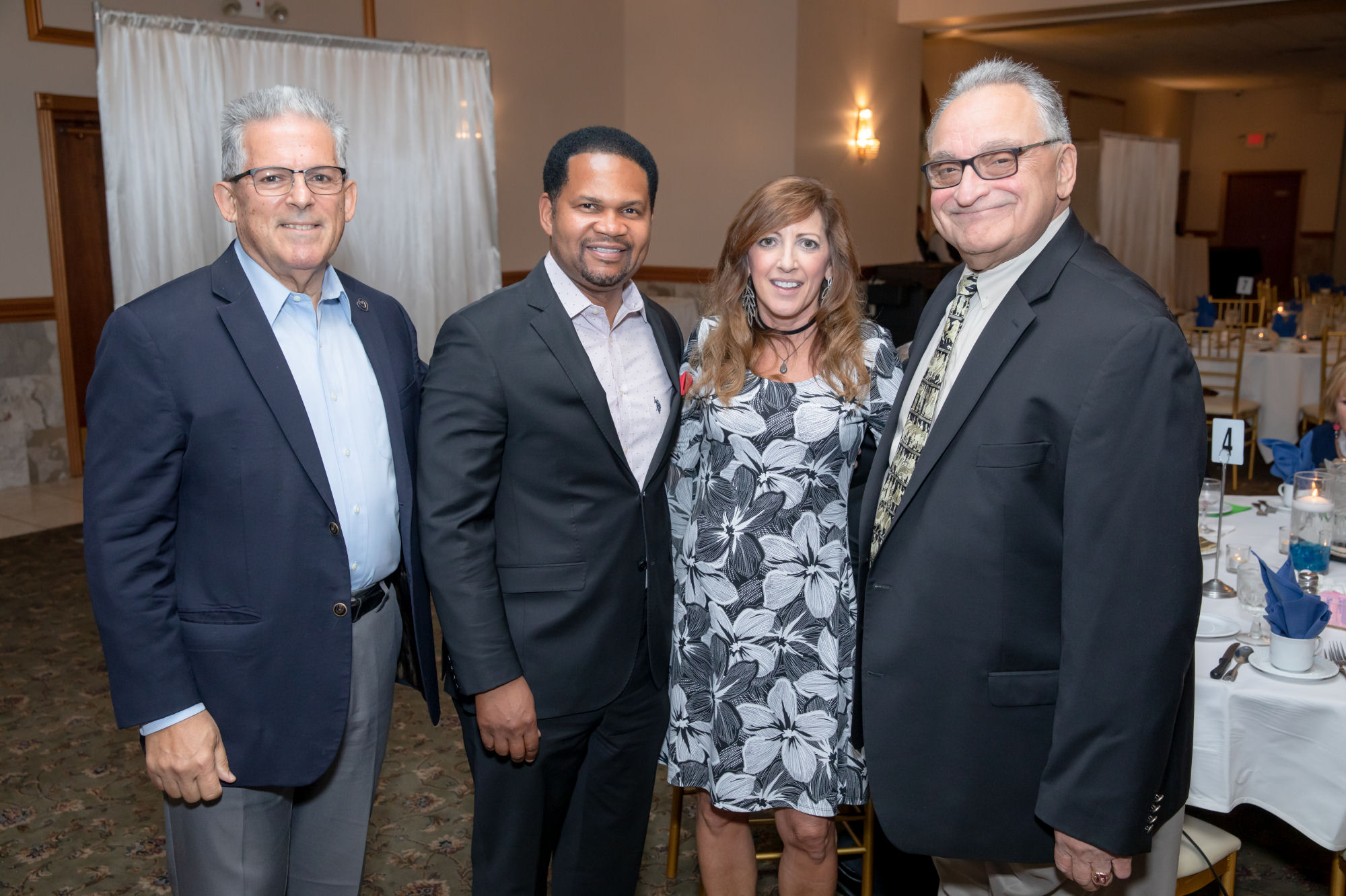 2019 Aurora-John Vranas, Mayor Richard Irvin, Aurora, Illinois, Honoree Illinois State Senator Linda Panagopoulos Holmes, Dr. James Patras