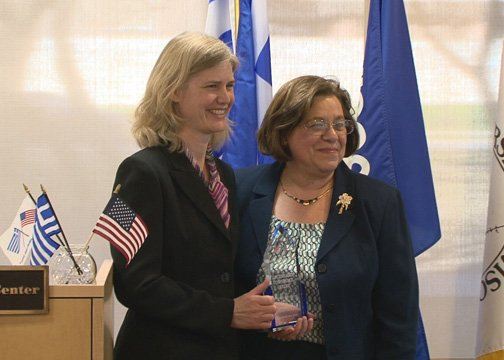 Jenna Graf and Georgia Nikolopoulos, American Philhellenes Society